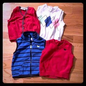 various outside vest 9-18 months